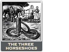 Three Horseshoes Faversham Logo
